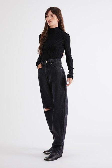 NEUW Sade Jeans - Zero Washed Black Rip