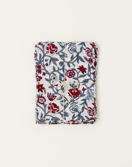 Covet + Lou Marigold Napkin Set - Red