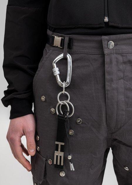 Heliot Emil Medium Carabiner Keychain - Black