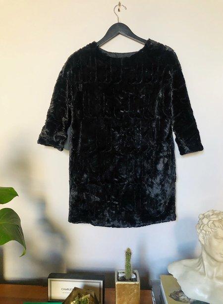 [Pre-loved] Meg Faux Fur Mini Dress