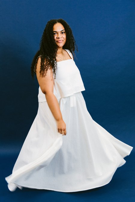 Golondrina of Mexico lily skirt - natural