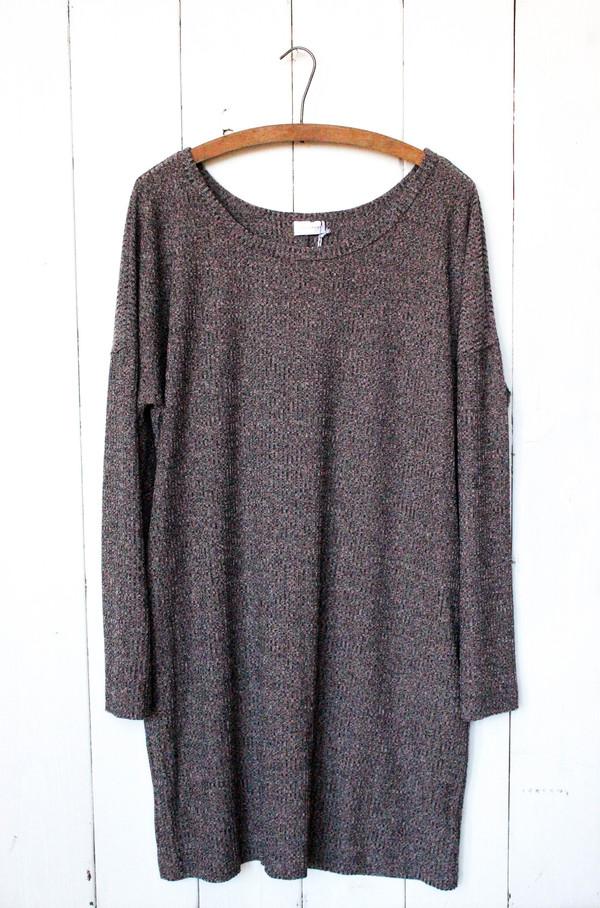 Goldspark Blush Sweater Dress