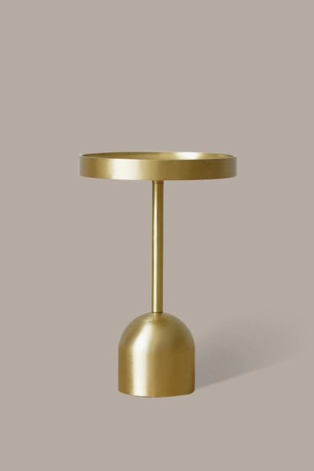 BEFORE MARCH Fountain Medium Candle Holder - Brass
