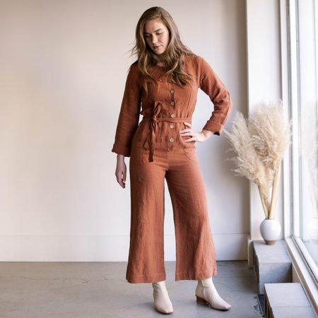 Arraei Collective Coco Jumpsuit - Copper