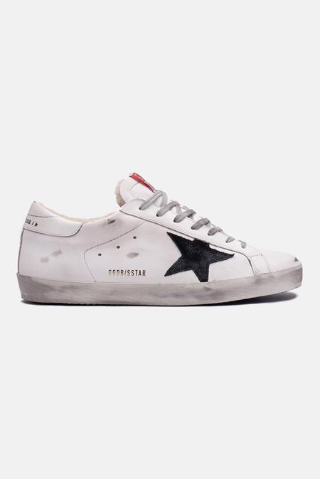 Golden Goose Superstar Shoes - White/Black