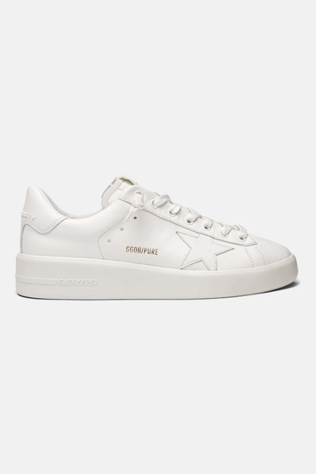 Golden Goose Pure Star Shoes - White