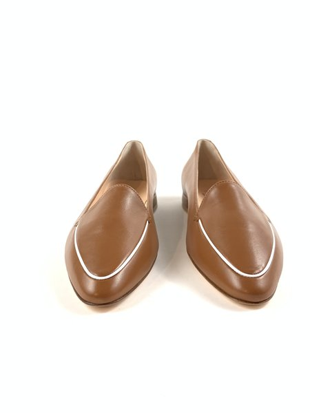 AGL Seraphina Loafers - Brandy White