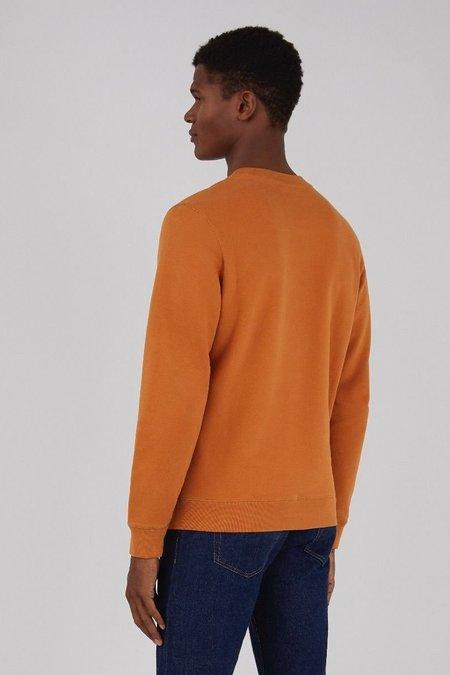 Sunspel Cotton loopback sweatshirt - cinnamon
