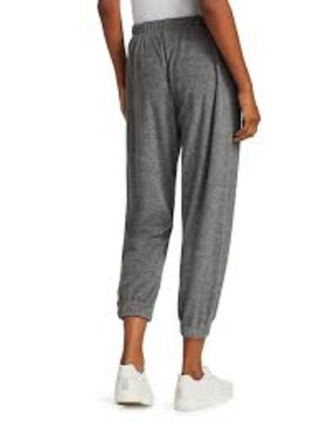Donni. Terry Henley Sweatpants - Plush Heather Grey