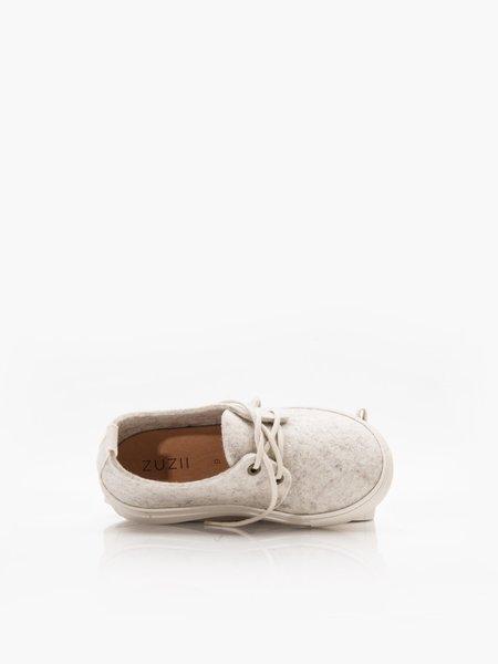 Kids ZUZII FOOTWEAR Wooly Sneakers - Ivory