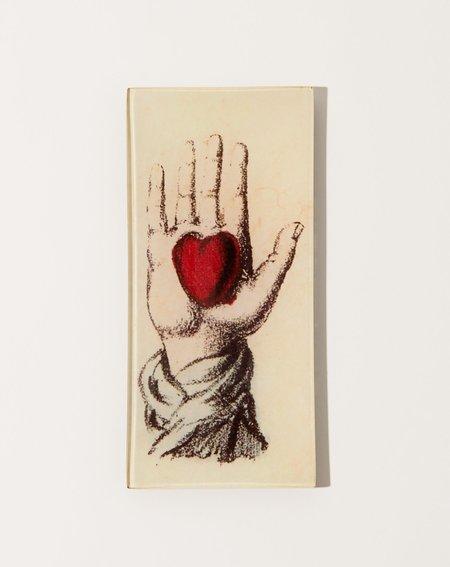 John Derian aHolding Heart Tray - natural