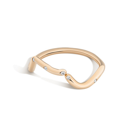 Shahla Karimi 14K Gold Subway Ring - Inwood to WTC