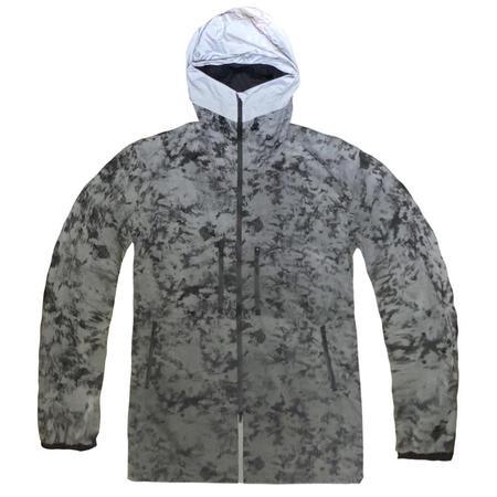 Adidas Y-3 Cover Distressed Reflective Jacket - Reflective AOP
