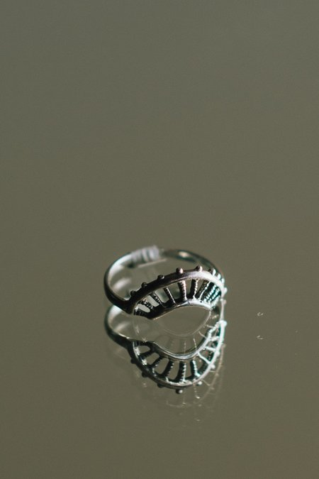 Dwellore Sol Ring - STERLING SILVER
