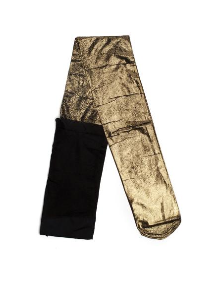 Ann Demeulemeester Golden Polyamid Pantyhose
