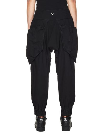 Hamcus Trousers With Zippers - Black