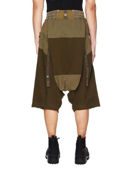 Hamcus Mixed Shorts With Zippers - Khaki