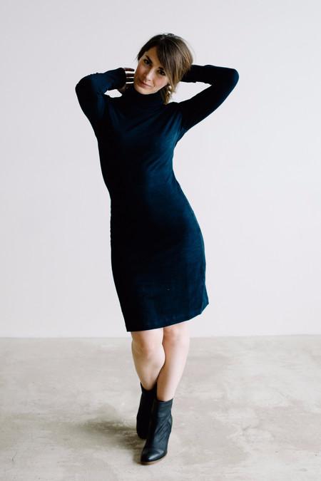 Osei-Duro Kendo Turtleneck Dress - Indigo
