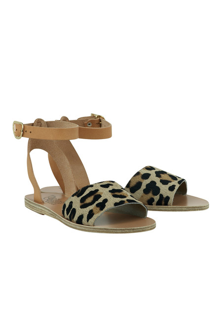 Ancient Greek Sandals Ancient Greek Pony Fur Sandal