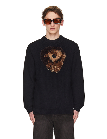 Doublet Black Forever My Friend Sweater