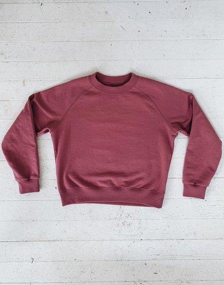 Noble Organic Sweatshirt - Elderberry