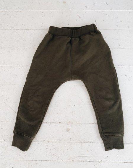 Kids Noble Organic Sweatpants - Olive