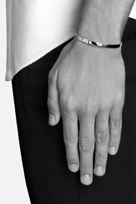 Miansai Tailor Cuff - Sterling Silver