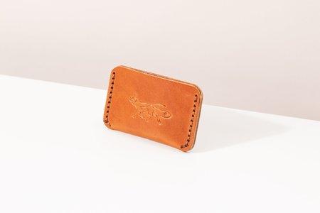 Foxtrot Studio Simple Wallet - Cognac