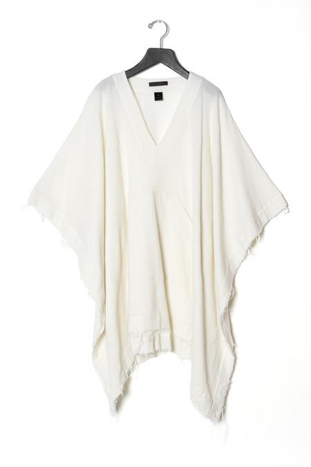 KES Crinkled Wool Poncho