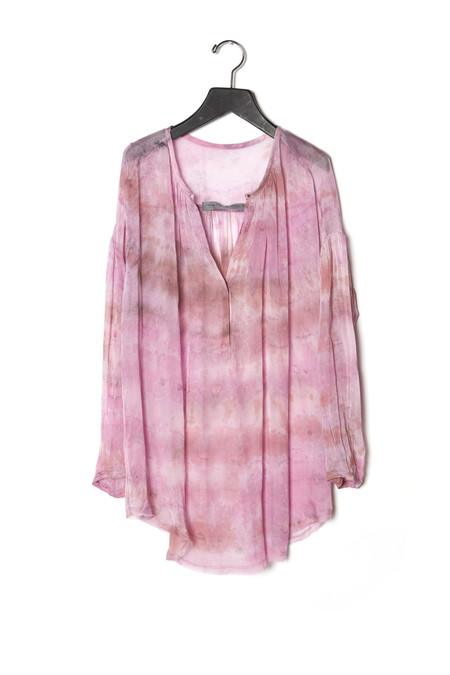 Raquel Allegra Shirred Tunic