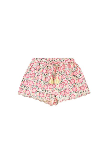 Kids Louise Misha Vallaloid Shorts - Pink Meadow