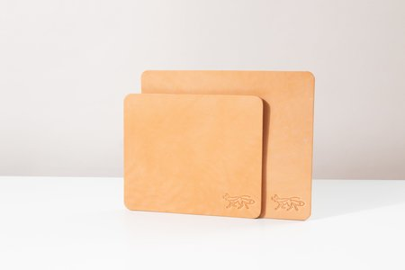 Foxtrot Studio Large Leather Mousepad - Natural