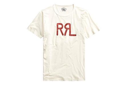 RRL Logo Cotton Jersey T-Shirt - Natural