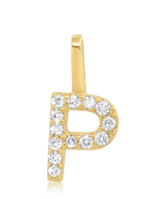 LADYBIRD Tai Diamond Charm - Gold