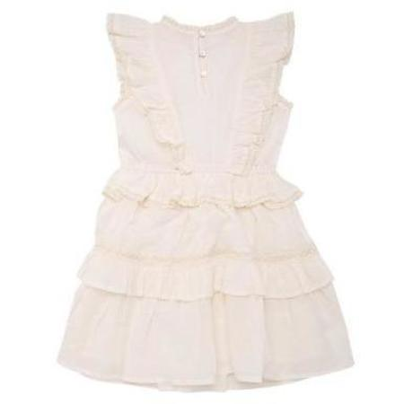 kids the new society antonia dress - off-white