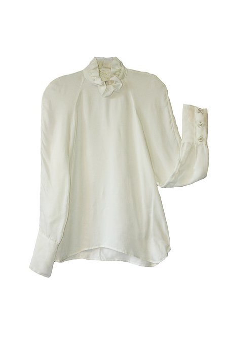Suzanne Rae Ruffle Neck Top