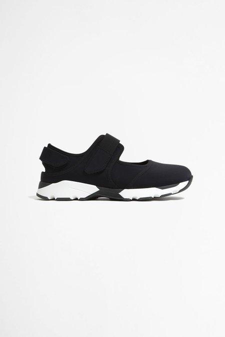 Marni Two-Tone Sneakers - Black/White