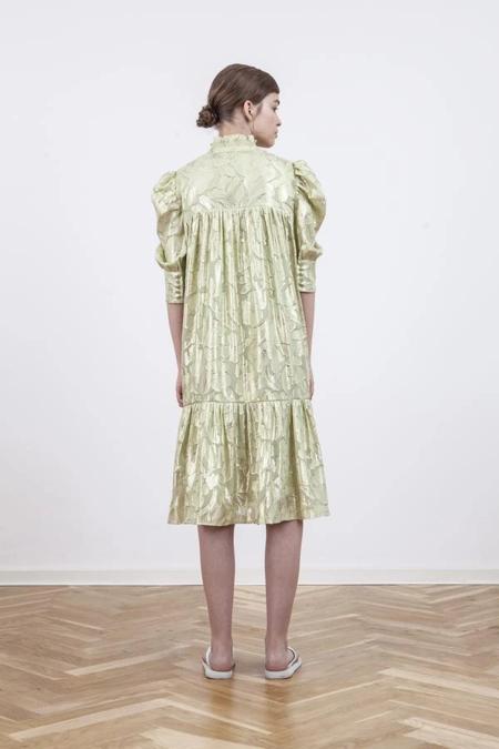 BIRGITTE HERSKIND Liva Dress - Moss Glitter