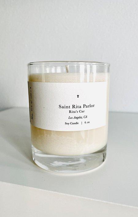 Saint Rita Parlor Rita's Car Parfum Candle