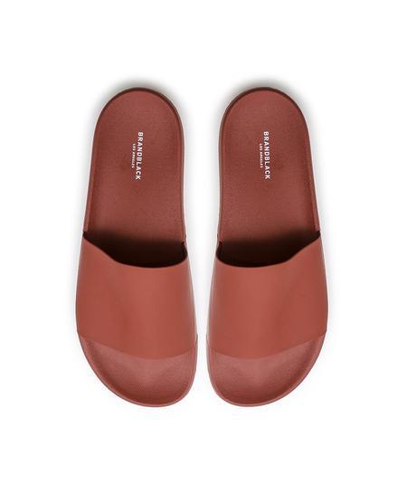 Brandblack Mango Kashiba-Lux Slides - red