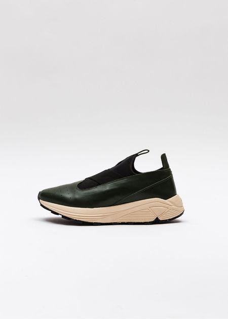 Guillermo Bravo Marquez Low-Top Sneakers - Green/Cream