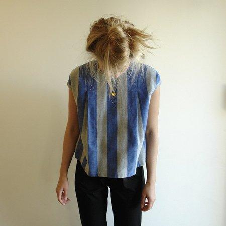Carleen Pleat Shoulder Top