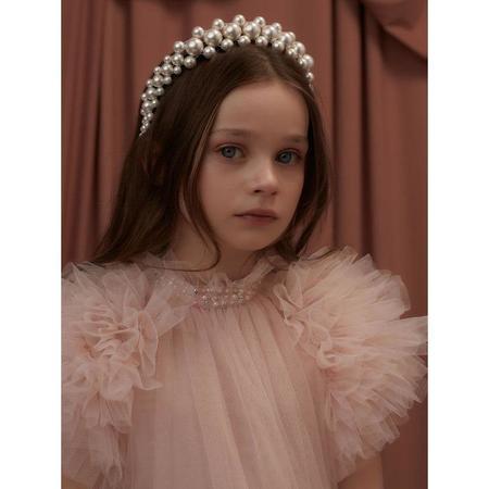 kids tutu du monde abu dhabi tulle dress - petal