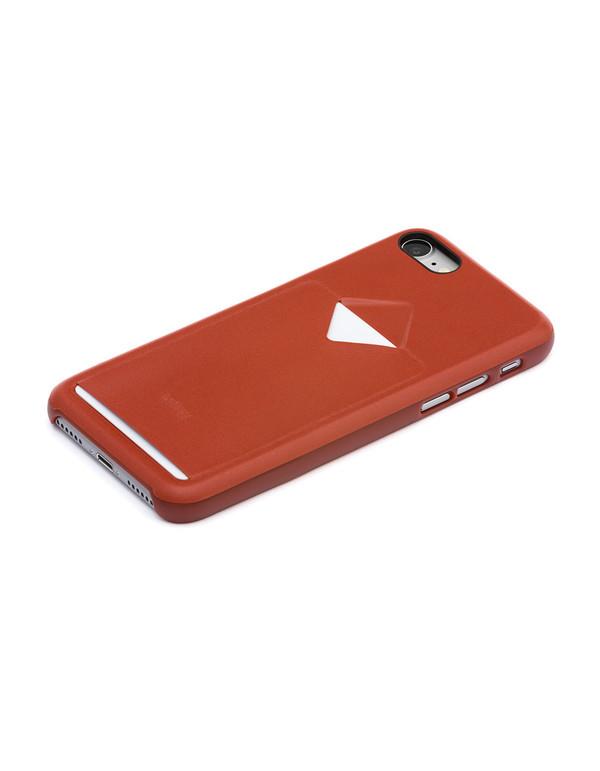 Bellroy Phone Case i7 1 Card Tamarillo