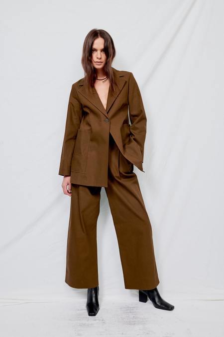 Studio Nicholson Twill Webb Jacket - Moss