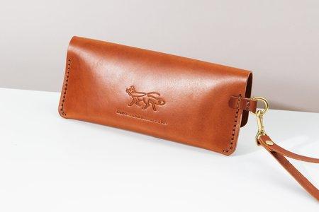 Foxtrot Studio Long Wallet - Cognac