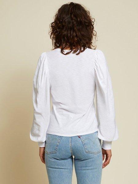 Nation Ltd Tabitha Long Sleeve - White