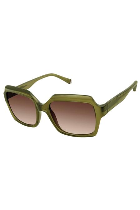 Kate Young For Tura toni Sunglasses - Khaki