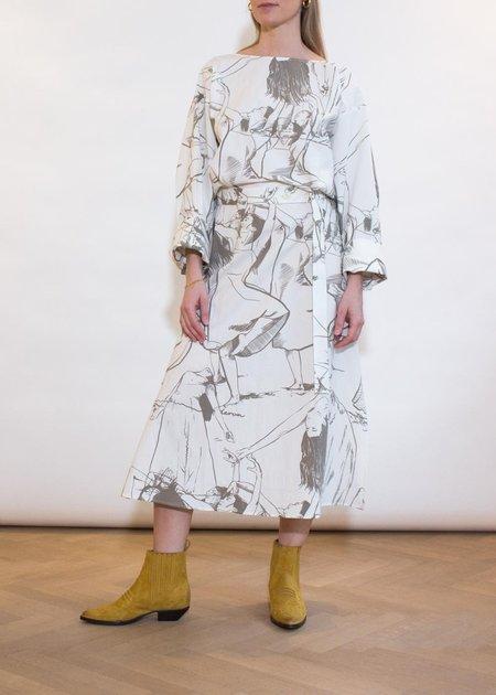ÁERON Breanna Dress - Dancer Print