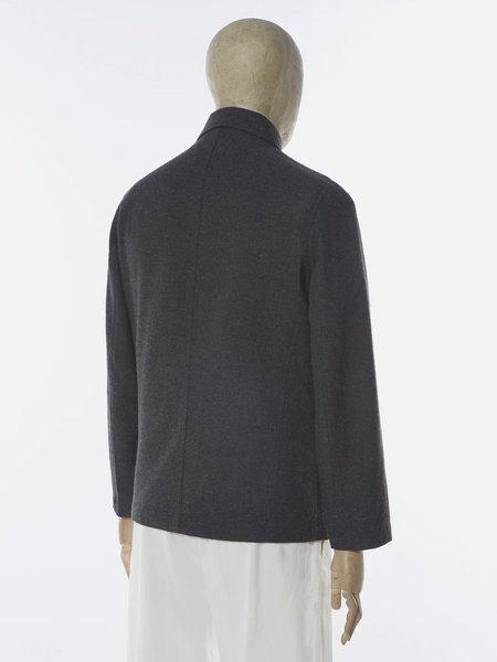 Universal Works Bakers Jacket - Charcoal Wool Marl